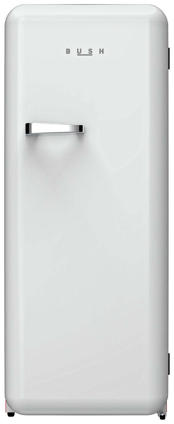 Bush Retro M61153RETROWHT Fridge - White