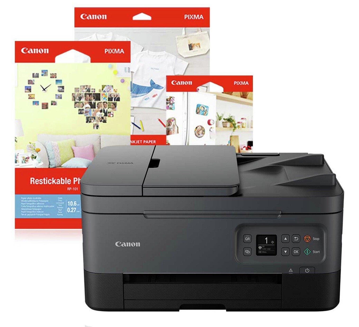 Canon PIXMA TS7450 Wireless Inkjet Printer Crafting Bundle