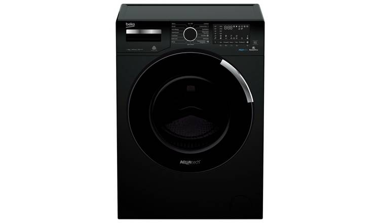 Beko AquaTech 9KG 1400 Spin Washing Machine - Black