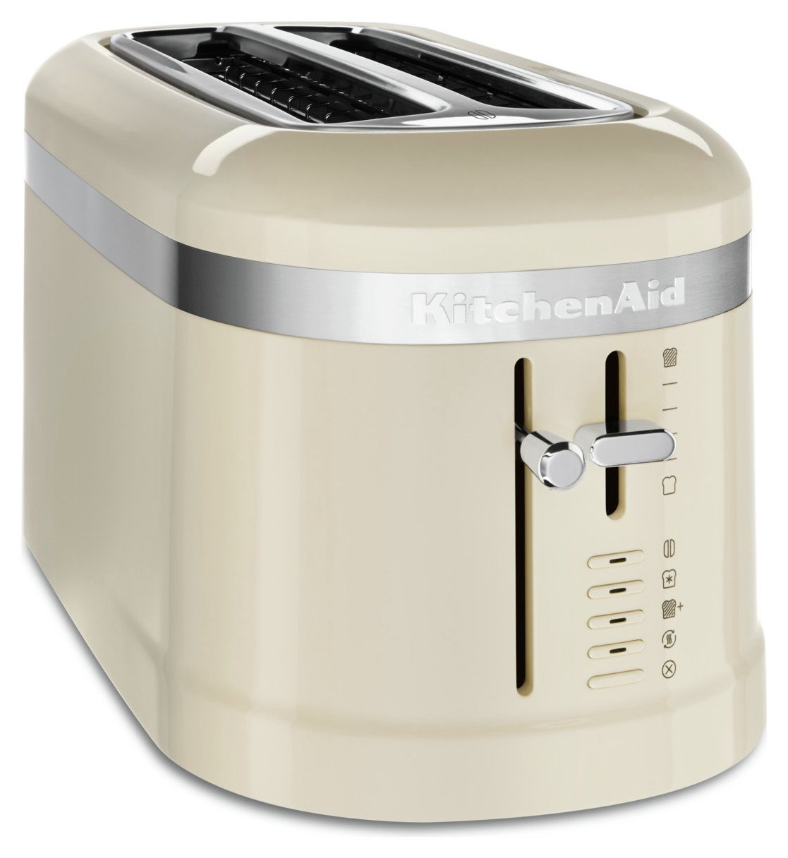 KitchenAid 5KMT5115BAC Design 4 Slice Toaster - Almond