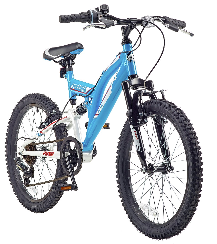 Piranha XP 20 Inch Dual Suspension Kid's Mountain Bike