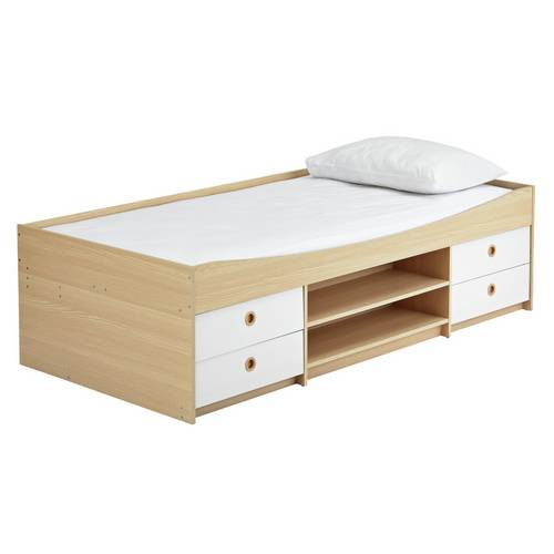 Buy Argos Home Camden White & Acacia Cabin Bed & Kids ...