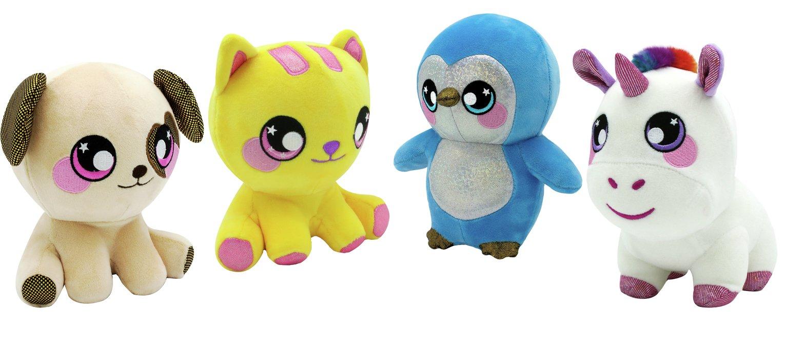 Squeezamals 3D Soft Toy Assortment