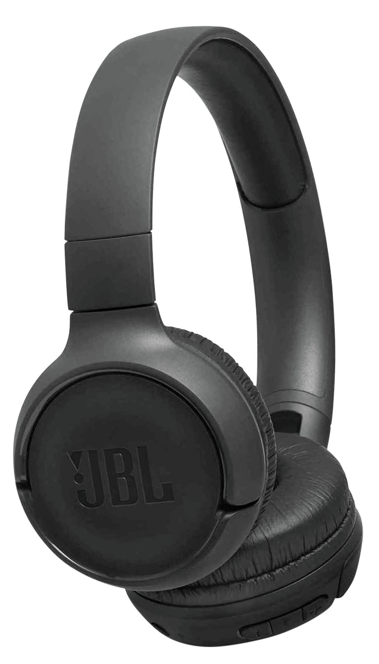 JBL Tune 500BT On-Ear Wireless Headphones - Black