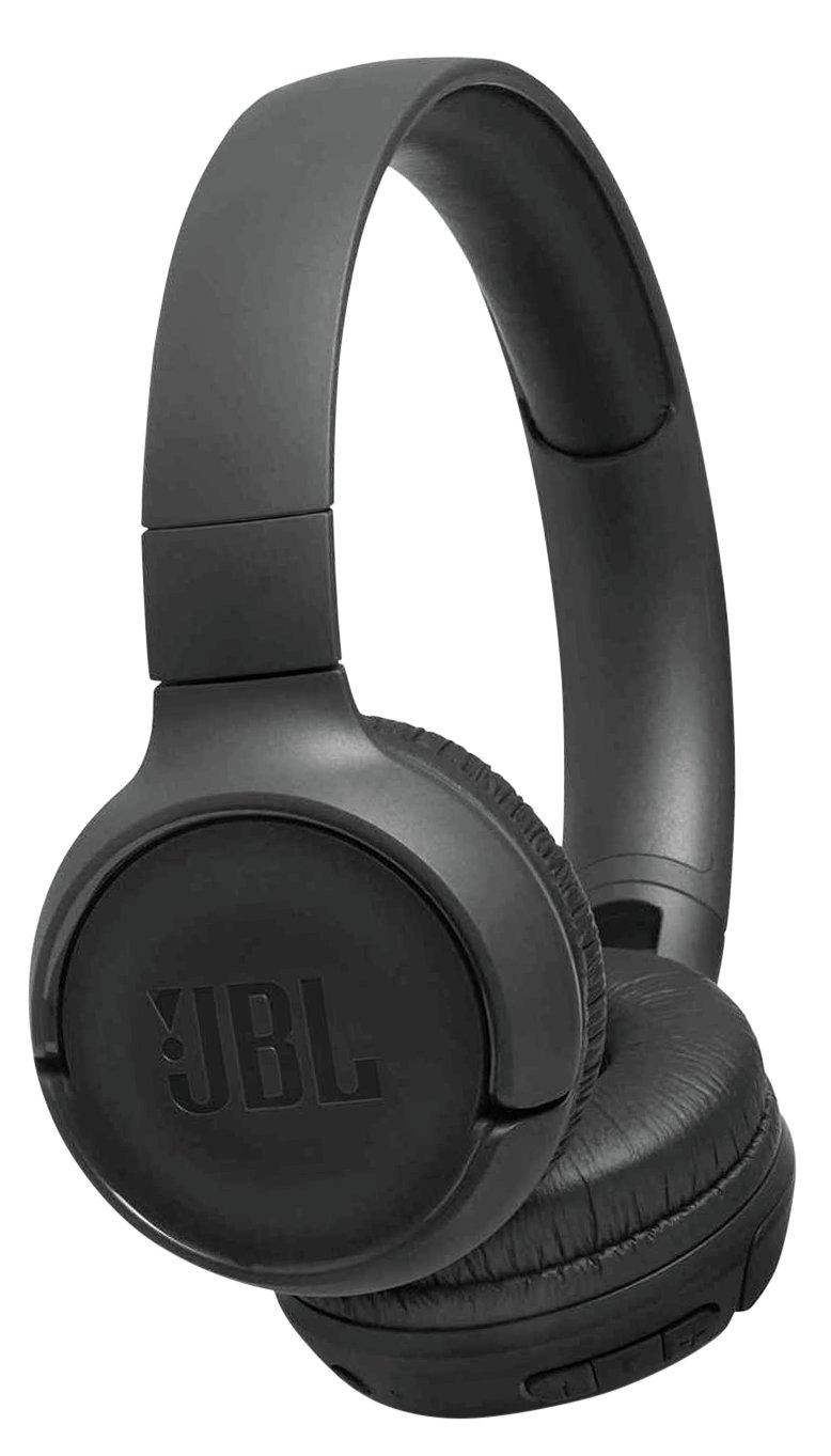 JBL Tune 500BT On-Ear Wireless Headphones - Black
