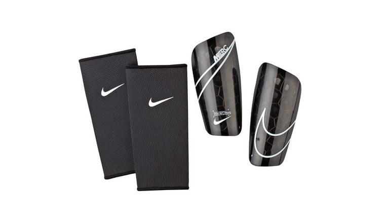 vast selection dirt cheap cheap Buy Nike Mercurial Lite Slip In Adult Shin Pads - Black | Football goals |  Argos
