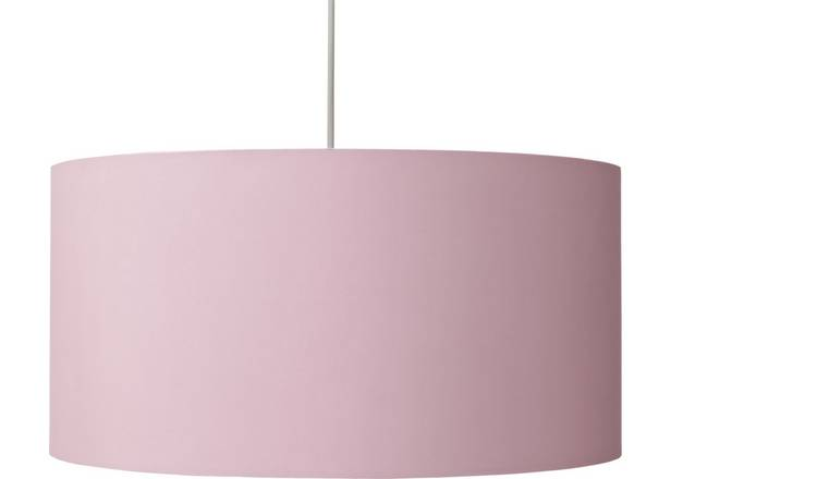 Argos Home Oversized Metallic Shade - Copper & Pink