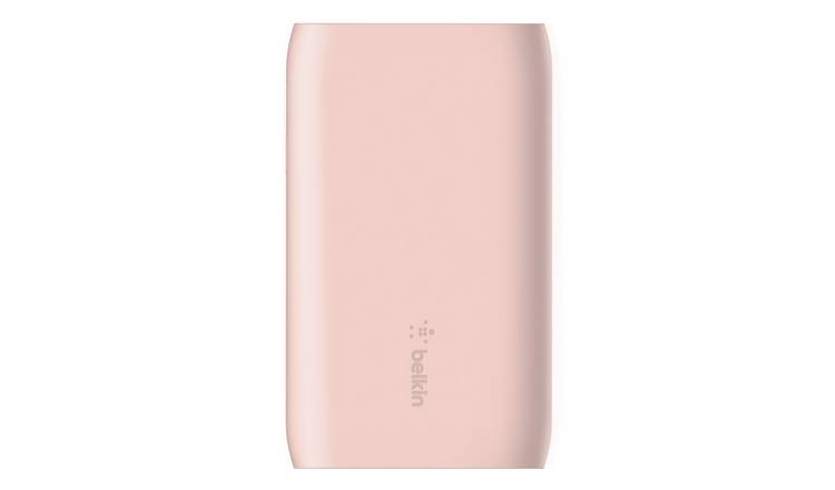 Belkin 5000mAh Power Bank Pre Charged - Rose Gold