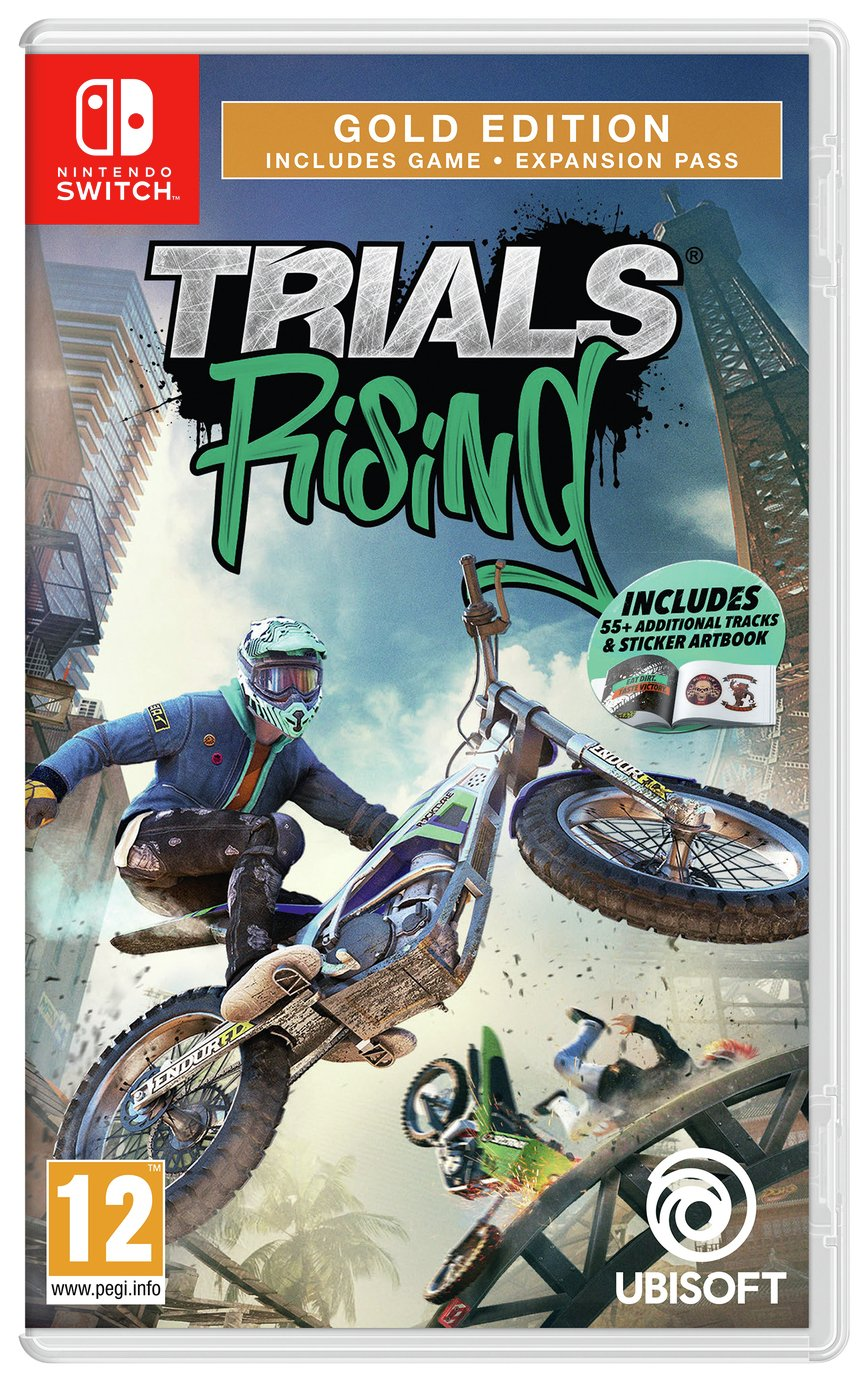 Trials Rising: Gold Edition Nintendo Switch Game