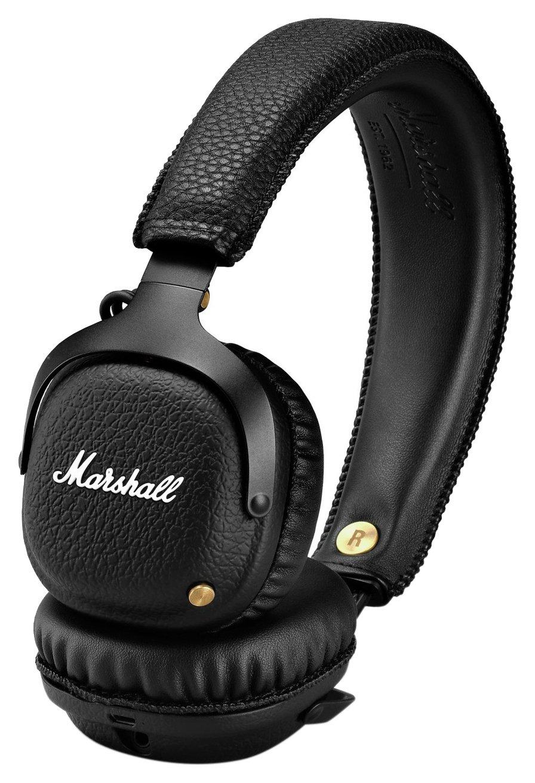 Marshall Mid On-Ear Wireless Headphones - Black