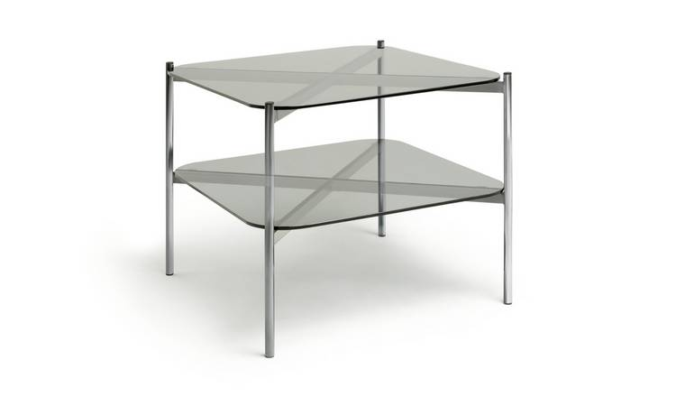Habitat Neo Coffee Table - Chrome