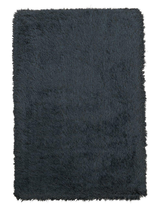 Argos Home Bliss Deep Pile Shaggy Rug - 160x230cm - Black