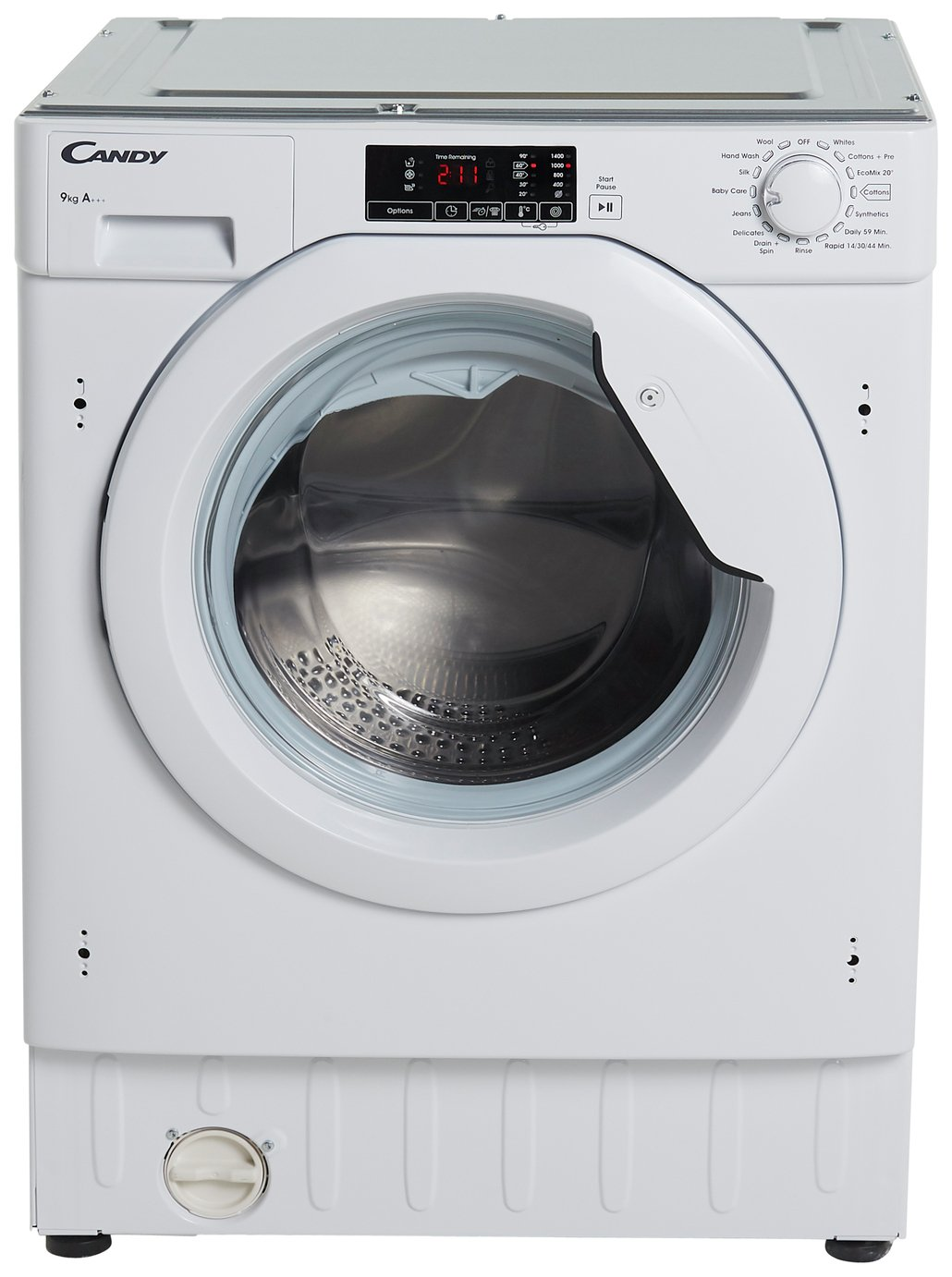 Candy CBWM 916D 9KG 1600 Spin Integrated Washing Machine