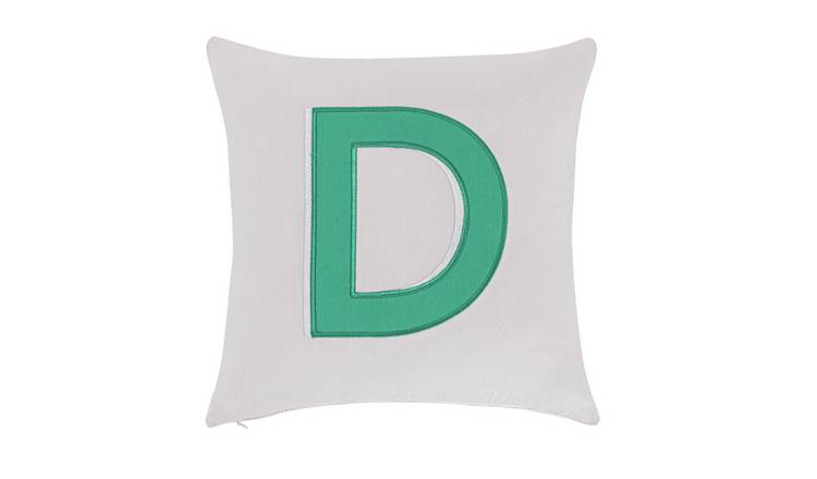 Argos Home Letter D Cushion