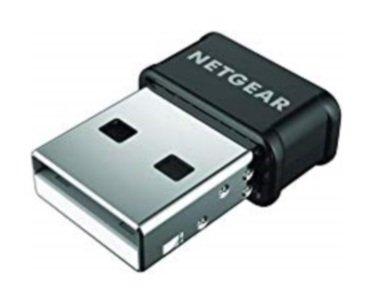 Netgear A6150-100PES AC1200 USB 2.0 Wi-Fi Adaptor