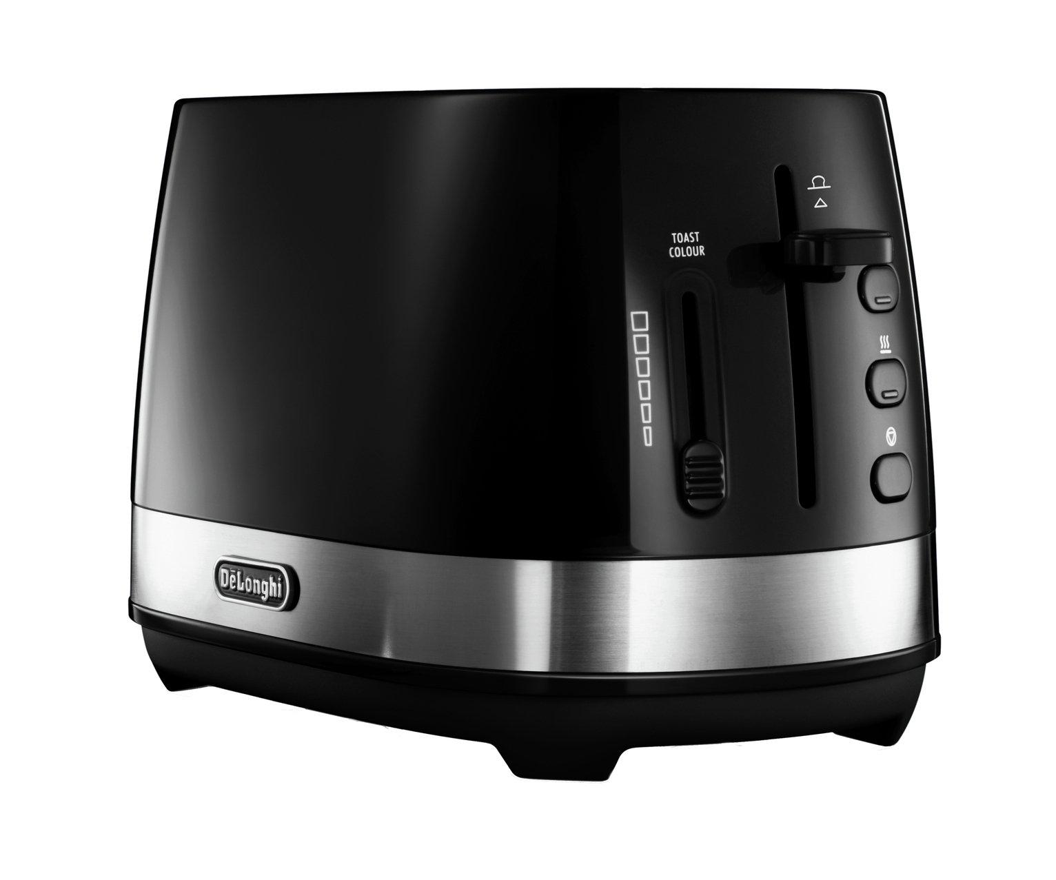De'Longhi CTLA2103 Active Line 2 Slice Toaster - Black