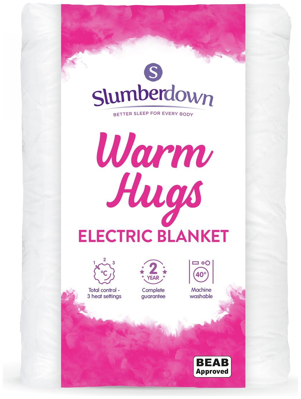 Slumberdown Essential Electric Heated Underblanket - Single