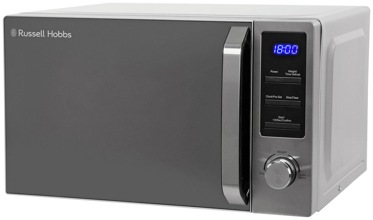 Russell Hobbs 800W Standard Microwave RHM2086SS - S/Steel