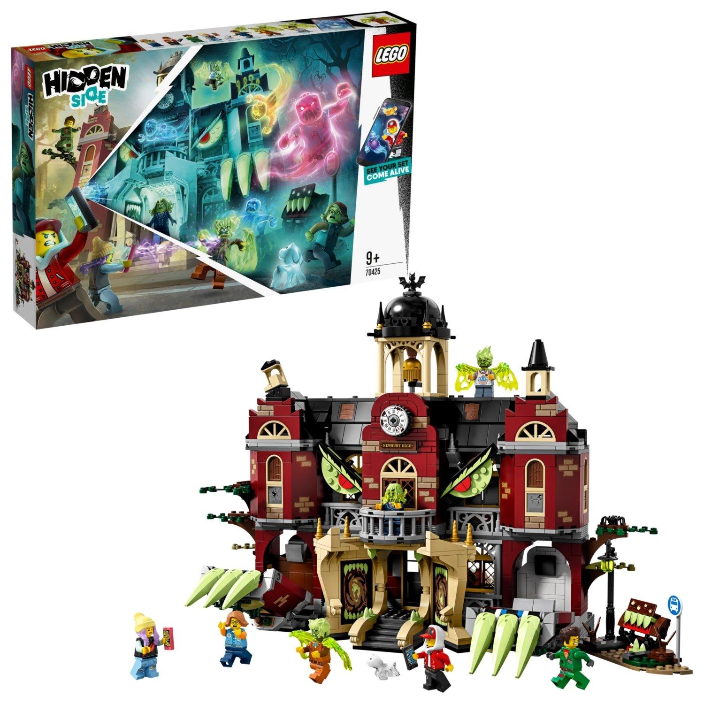 LEGO Hidden Side Newbury Haunted High School AR Games 70425