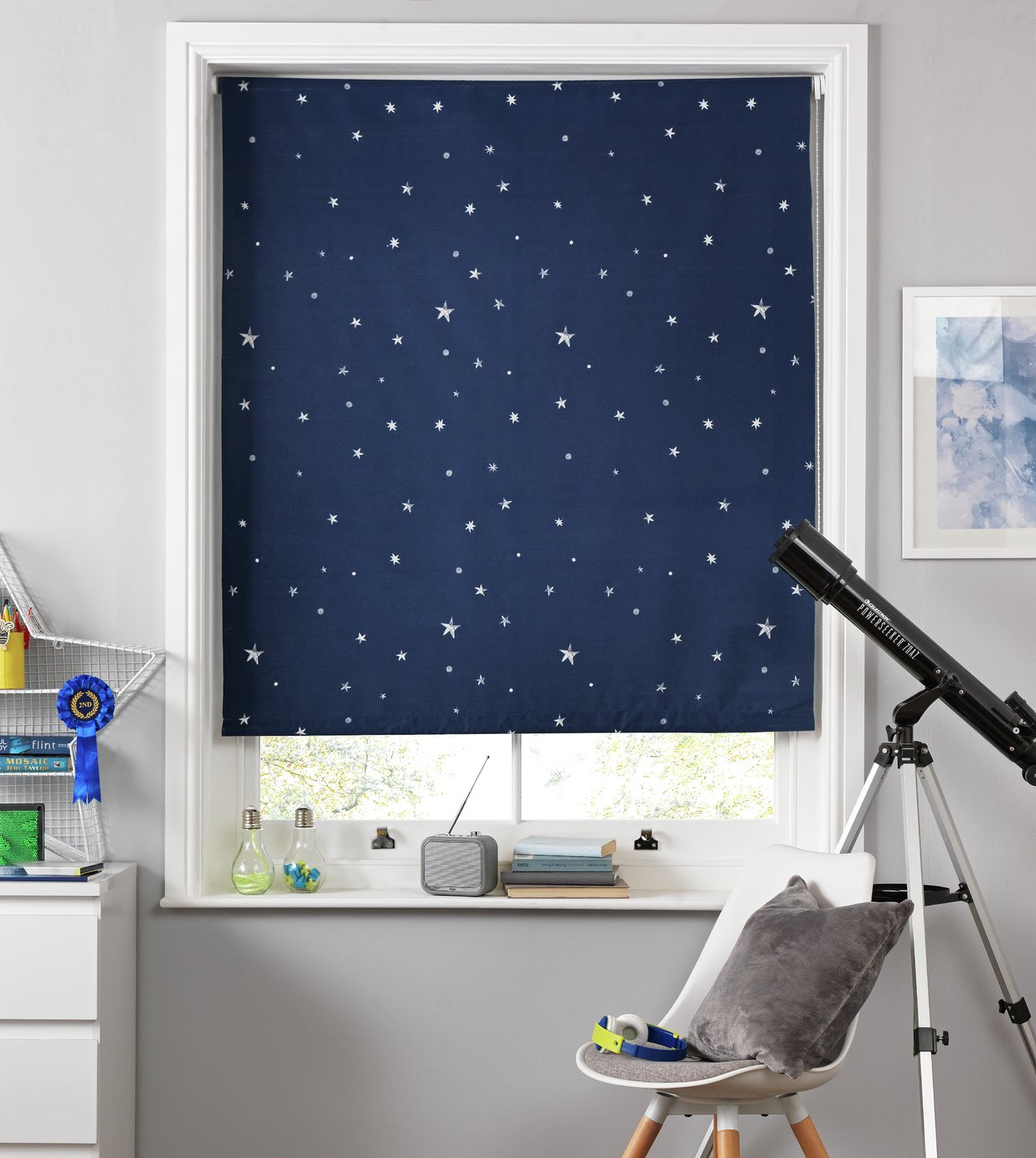 Argos Home Space Blackout Roller Blind - 3ft