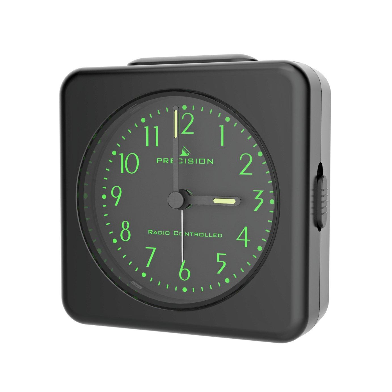 Precision Radio Control Light & Snooze Alarm Clock - White