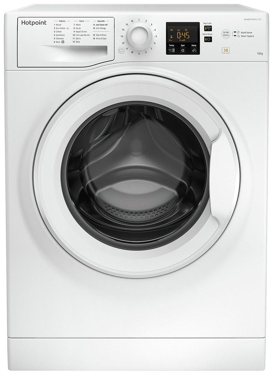 Hotpoint NSWM1043CW 10KG 1400 Spin Washing Machine - White
