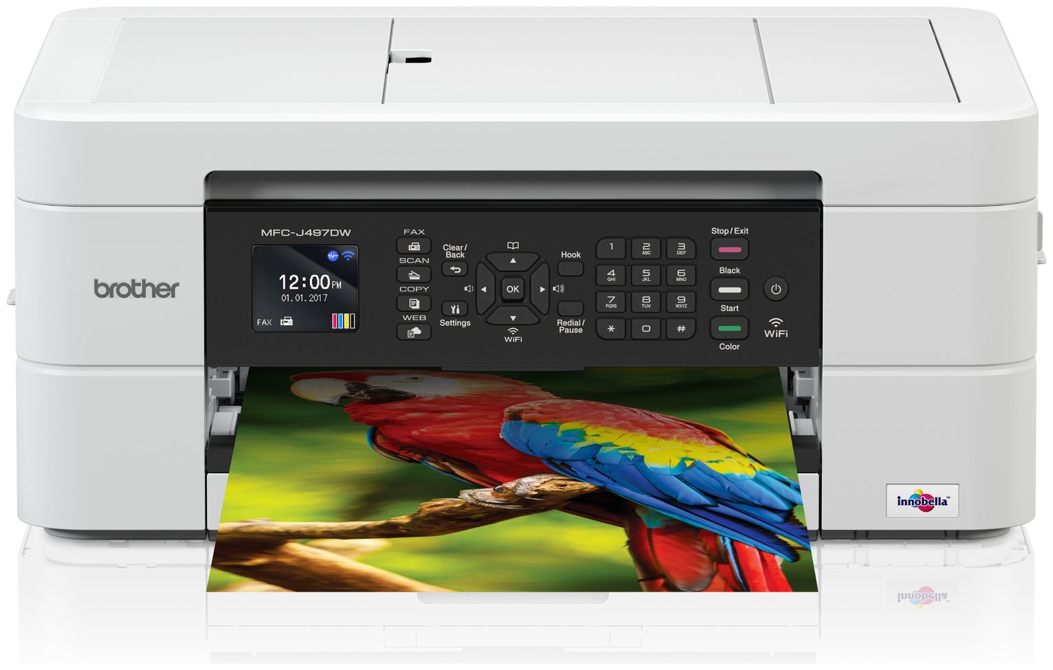Brother MFC-J497DW Wireless Inkjet Printer