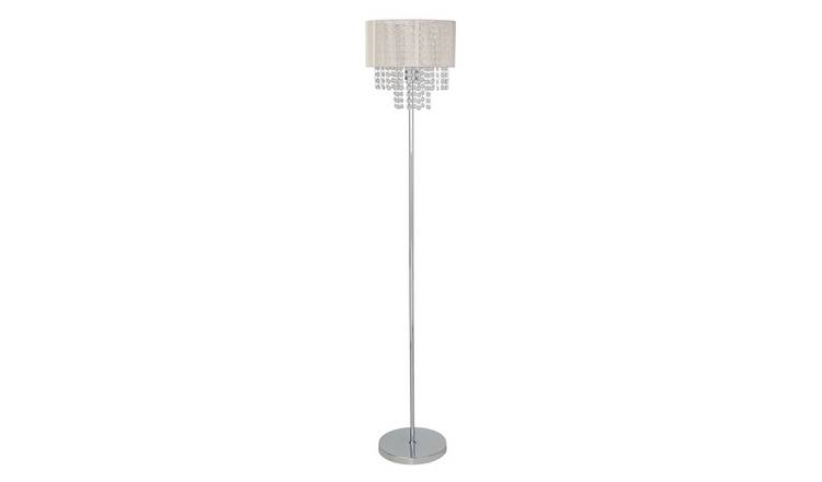 Argos Home Siena Floor Lamp - Chrome