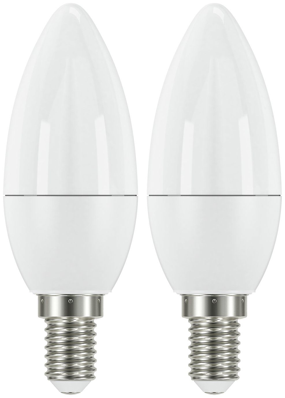 Argos Home 5W LED SES Frosted Candle Light Bulb - 2 Pack