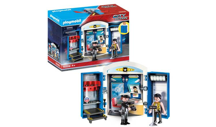 Playmobil 70306 Police Station Play Box