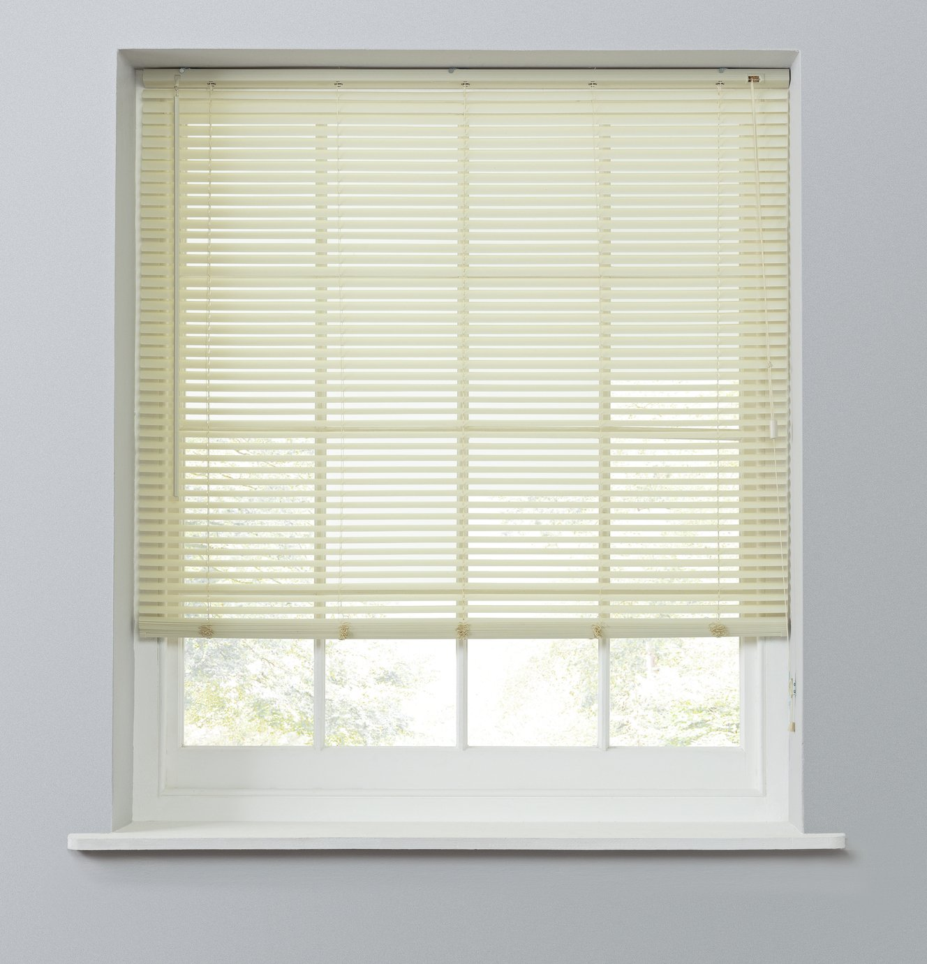 Argos Home 25mm PVC Venetian Blind - Cream