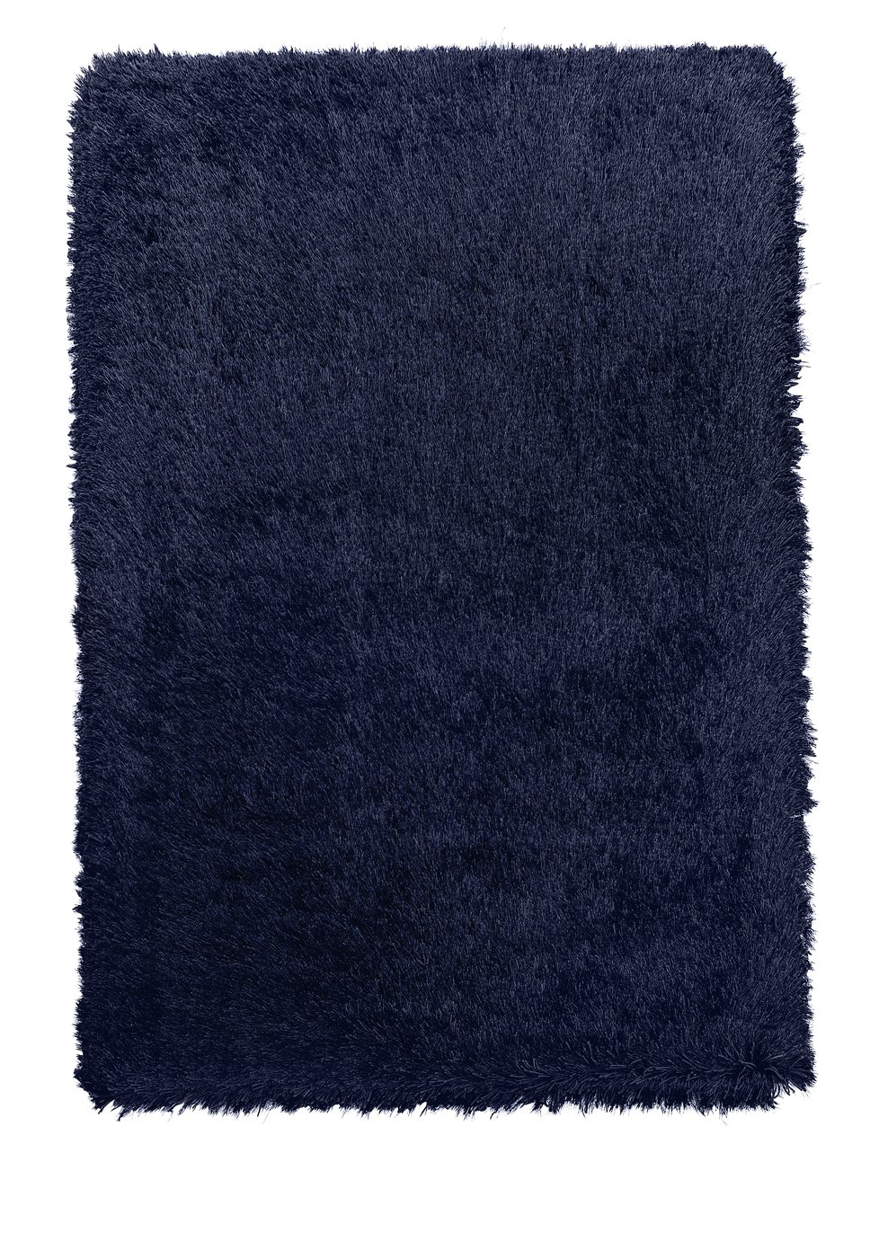 Argos Home Bliss Deep Pile Shaggy Rug - 170x110cm - Navy