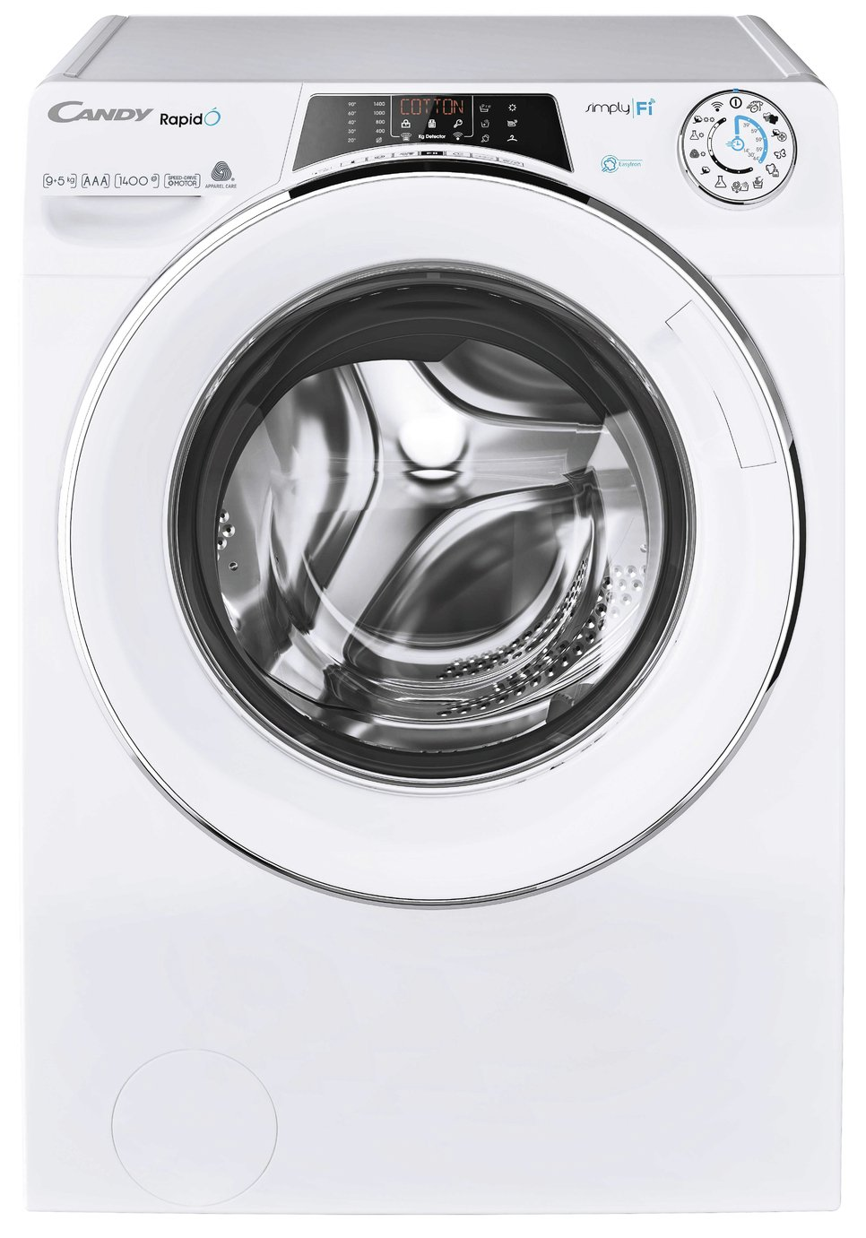 Candy Rapido ROW14956DWHC 9KG / 5KG 1400 Spin Washer Dryer