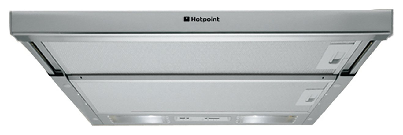 Hotpoint HSFX.1/1 59.8cm Cooker Hood - Stainless Steel