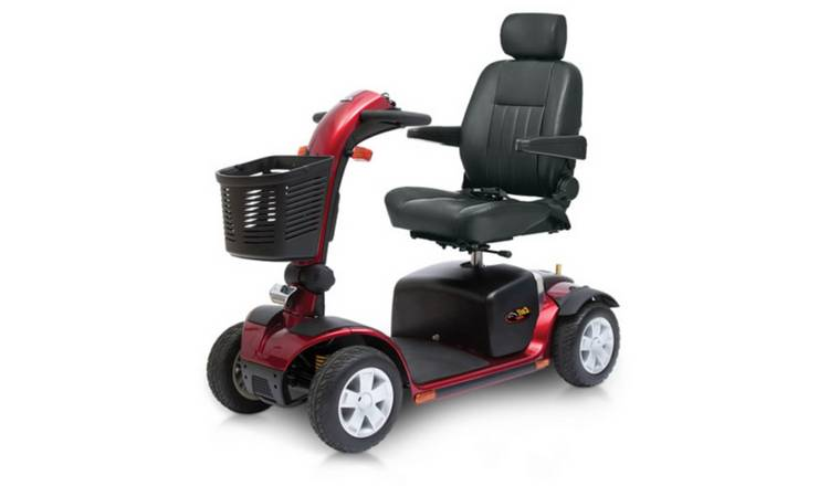 Pride Mobility Colt Sport Power Scooter - Red