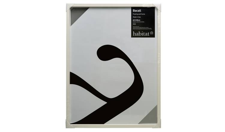 Habitat Bacall 60 X 80cm/24 X 32inch White Picture Frame