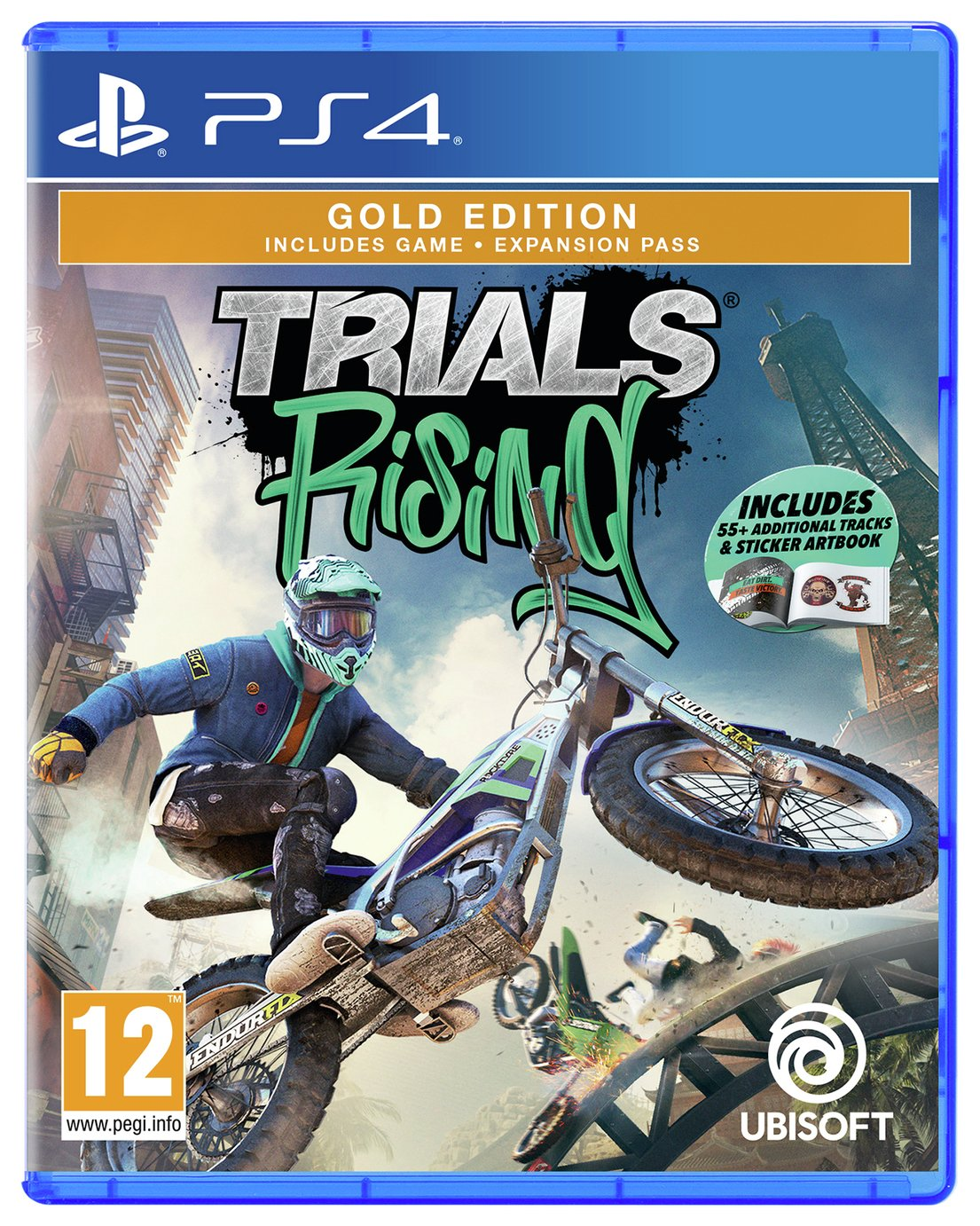 Trials Rising Gold Edition PS4 Game
