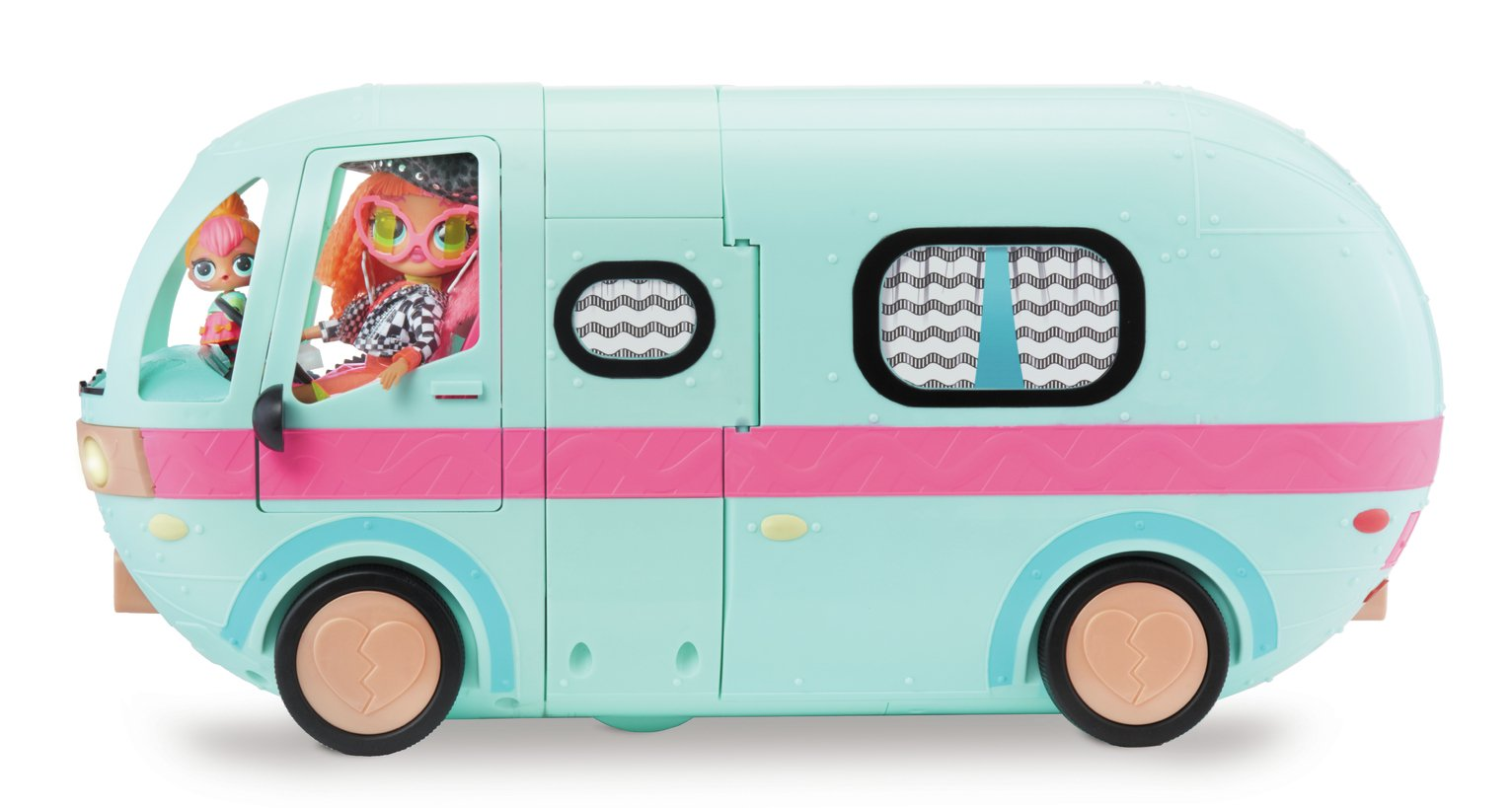 LOL Surprise 2-in-1 Glamper Fashion Camper with 55 Surprises