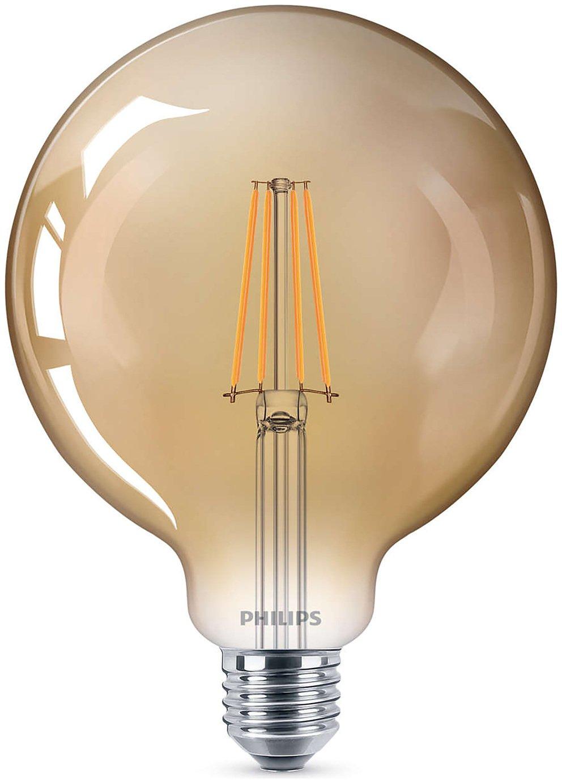 Philips LED Filament E27 8W (50W) Dim Giant Bulb - Gold