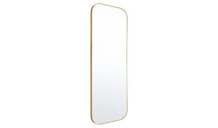 Habitat Patsy Gold Full Length Wall Mirror