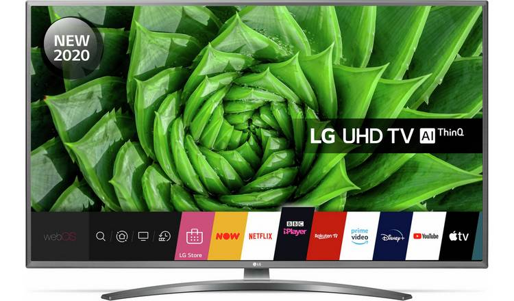 LG 55 Inch 55UN81006LB Smart 4K UHD HDR LED Freeview TV