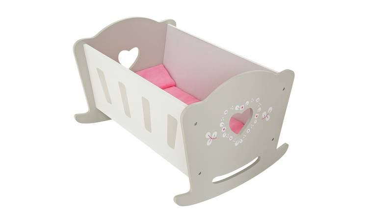 Chad Valley Babies to Love Wooden Doll Crib
