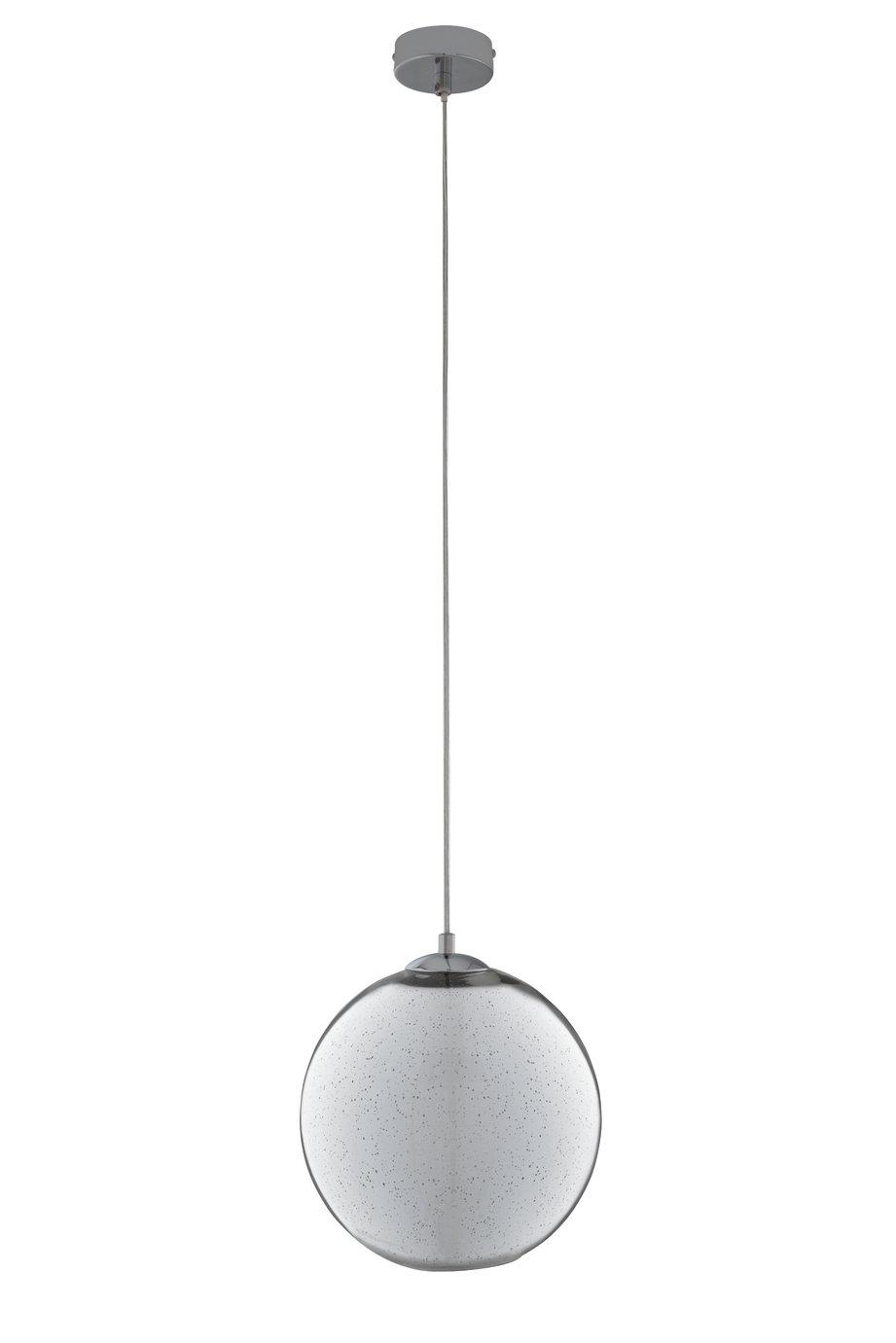 Argos Home Imogen Mercury Ball Pendant - Chrome