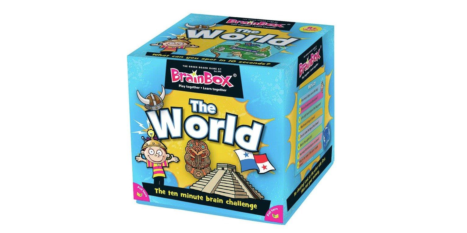BrainBox Travel The World Quiz Game