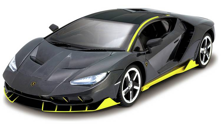 Kidz Tech Radio Controlled Lambo Centenario 1:12 Black by Argos