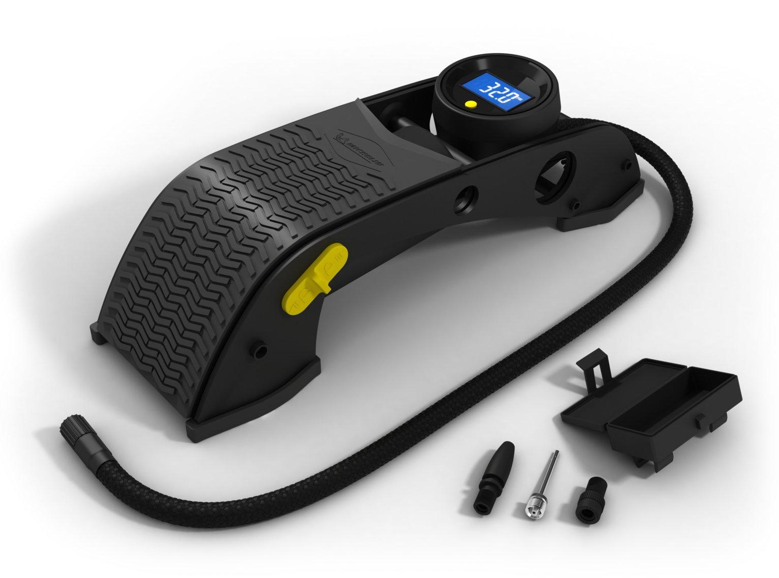 Michelin Digital Single Barrel Foot Pump