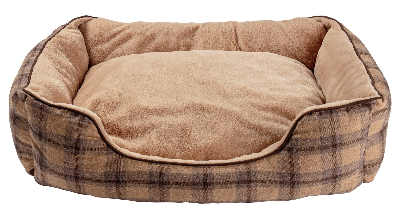 Pineham Memory Foam Square Pet Bed - Large