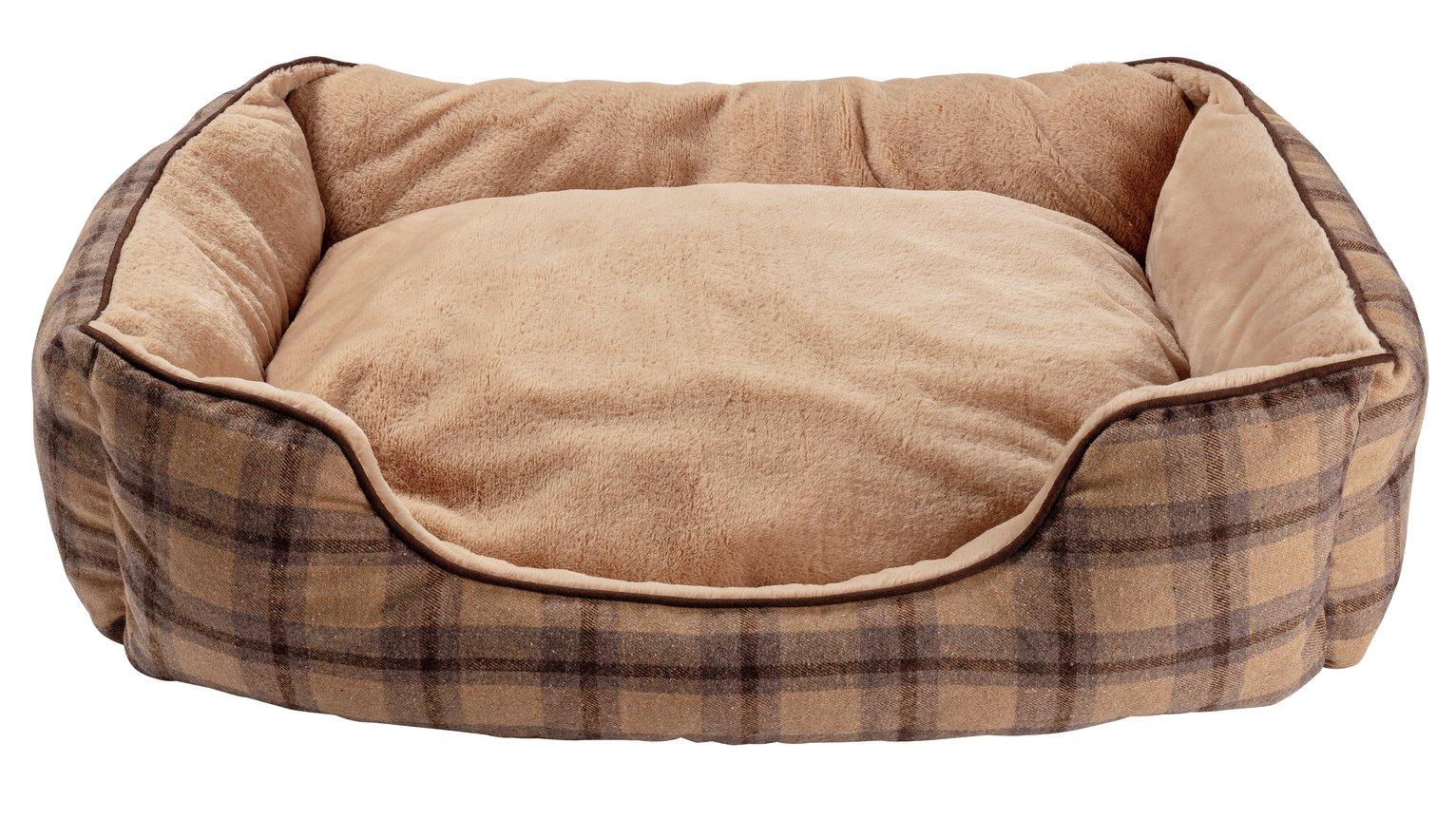 Pineham Memory Foam Square Pet Bed - Large