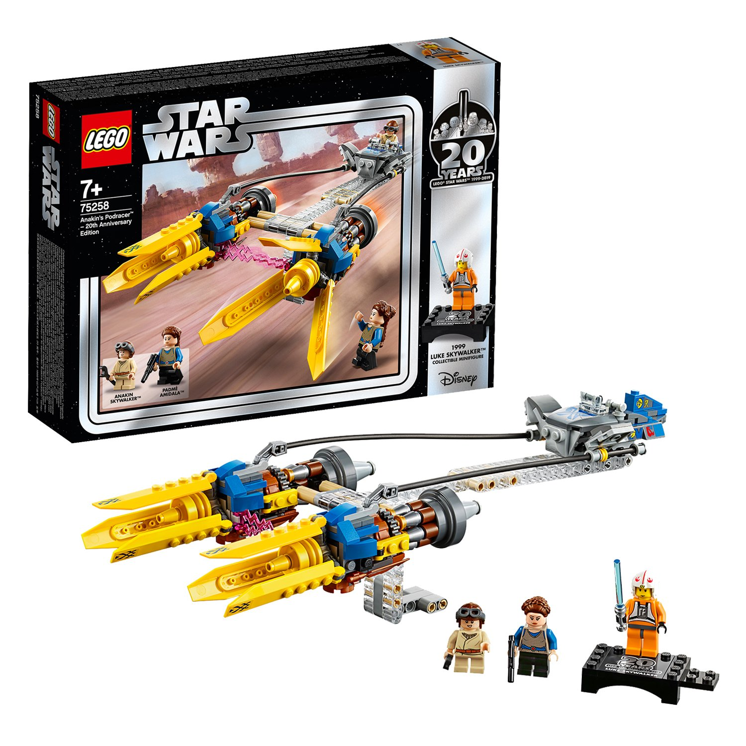 LEGO Star Wars Anakin Podracer 20th Anniversary Set - 75258