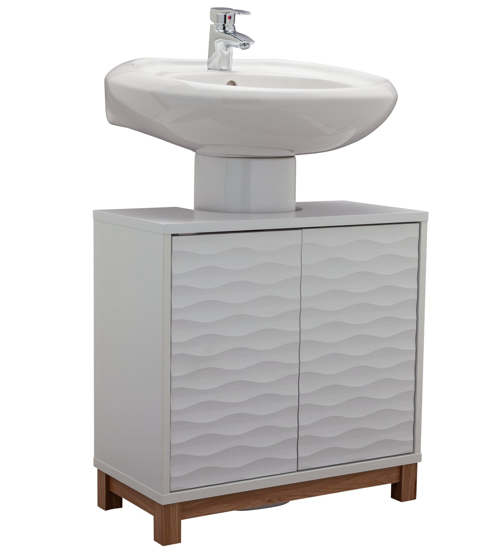 Argos Home Zander Undersink Storage Unit - White